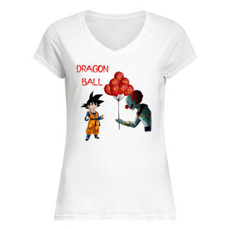 Dragon ball pennywise and songoku shirt